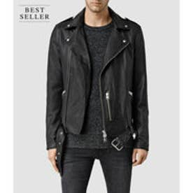 KAHAWA LEATHER BIKER(Black)