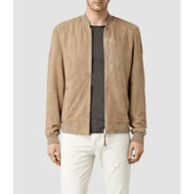 KEMBLE SUEDE BOMBER(SAND BROWN)