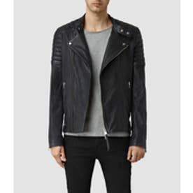 JASPER LEATHER BIKER(INK NAVY)