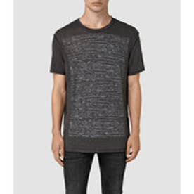 CADFER REVERSE TEE(Washed Blk/Chalk)