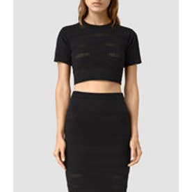 CASTO CROPPED TOP(Black)