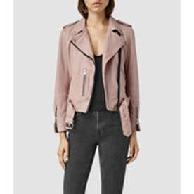 WYATT ZIP BIKER(BLUSH PINK)