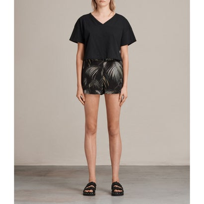 EMEN NELUWA PALM SHORTS (Black)