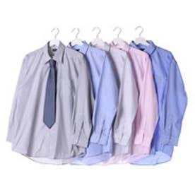 フランコ コレツィオーニ FRANCO COLLEZIONI 銀座・丸の内のOL100人が選んだワイシャツ&ネクタイセット (カラー系)