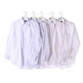 フランコ コレツィオーニ FRANCO COLLEZIONI 銀座・丸の内のOL100人が選んだワイシャツ5枚セット(ホワイト系)