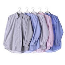 フランコ コレツィオーニ FRANCO COLLEZIONI 銀座・丸の内のOL100人が選んだワイシャツ5枚セット(カラー系)