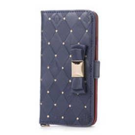 スターズ マーケット Stars Market ≪iPhone6S/iPhone6≫ディズニー キャラクター x ダブルリボン フリップカバー/アリス PG-DFP114ALC (ネイビー(アリス))