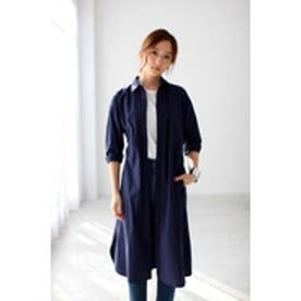 【AZUL by moussy】ロングシャツワンピ