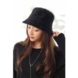 【AZUL by moussy】シャギーHAT BLK