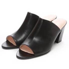 ビューフォートエレガンス BeauFort elegance ミュールサンダル(ブラック)
