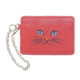 ヒッチハイクマーケット HITCH HIKE MARKET CAT!CAT!CAT! パスケース (ダークオレンジ)