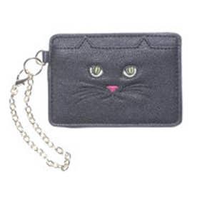 ヒッチハイクマーケット HITCH HIKE MARKET CAT!CAT!CAT! パスケース (ブラック)