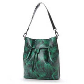 チャールズ & キース CHARLES & KEITH Shoulder Bag(Green)