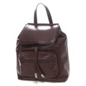 チャールズ アンド キース CHARLES & KEITH Shoulder Bag Lsize (Burgundy)