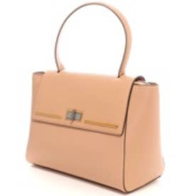 チャールズ アンド キース CHARLES & KEITH WorkTurn-Lock (Beige)