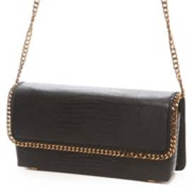 チャールズ & キース CHARLES & KEITH DressyClutchMagnetic (Black)
