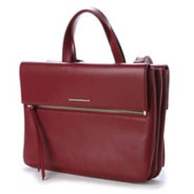 チャールズ&キース CHARLES & KEITH Zip  L (Burgundy)