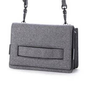 チャールズ & キース CHARLES & KEITH Clutch S(Grey)