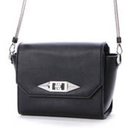 チャールズ & キース CHARLES & KEITH Sling Bag (Black)