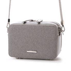 チャールズ & キース CHARLES & KEITH TrendySling BagZip (Grey)
