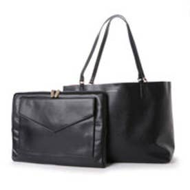チャールズ & キース CHARLES & KEITH WorkToteZip (Black)