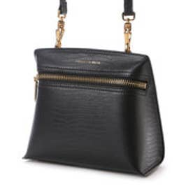 チャールズ & キース CHARLES & KEITH CasualSling BagZip (Black)