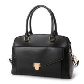 チャールズ & キース CHARLES & KEITH WorkHandbagZip (Black)
