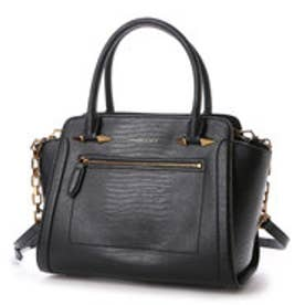 チャールズ & キース CHARLES & KEITH CasualHandbagZip (Black)