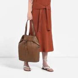 チャールズ & キース CHARLES & KEITH CasualToteMagnetic (Brown)