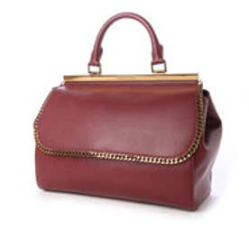 チャールズ & キース CHARLES & KEITH Handbag (Burgundy)
