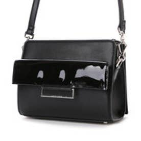 チャールズ & キース CHARLES & KEITH Shoulder Bag (Black)