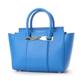 チャールズ & キース CHARLES & KEITH Handbag (Blue)