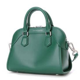 チャールズ & キース CHARLES & KEITH Handbag (Green)