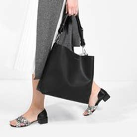 チャールズ & キース CHARLES & KEITH HoboMagnetic (Black)