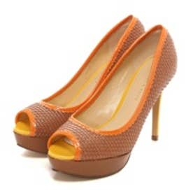 チャールズ アンド キース CHARLES & KEITH Platform Open Toe(Brown)