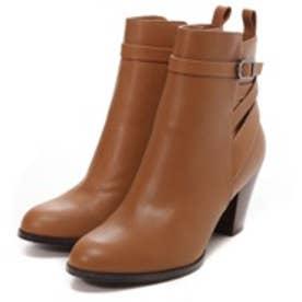 チャールズ & キース CHARLES & KEITH Ankle Boot Heels(Camel)