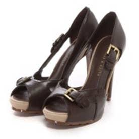 チャールズ & キース CHARLES & KEITH Sandals(Dark Brown)