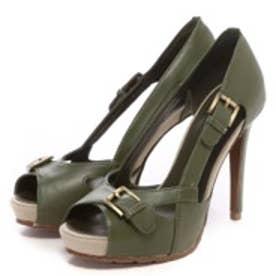 チャールズ & キース CHARLES & KEITH Sandals(Green)