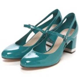 チャールズ & キース CHARLES & KEITH Mary Janes(Turquoise)