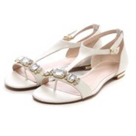 チャールズ & キース CHARLES & KEITH Sandals(White)