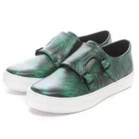 チャールズ & キース CHARLES & KEITH Sneakers(Green)