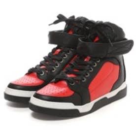 チャールズ & キース CHARLES & KEITH Sneakers(Red)