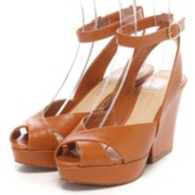 チャールズ アンド キース CHARLES & KEITH Ankle Strap (Brown)