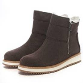 チャールズ アンド キース CHARLES & KEITH BootsCoveredAnkle Boot Flats (Brown)