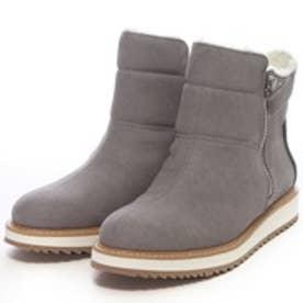 チャールズ アンド キース CHARLES & KEITH BootsCoveredAnkle Boot Flats (Grey)