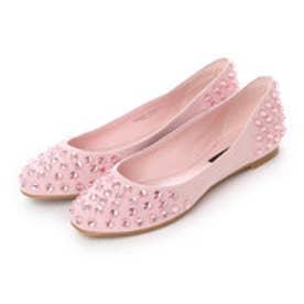 チャールズ アンド キース CHARLES & KEITH FlatsCoveredBallerina (Pink)