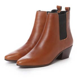 チャールズ アンド キース CHARLES & KEITH BootsCoveredAnkle Boot Heels (Brown)