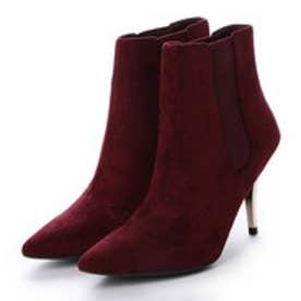 チャールズ アンド キース CHARLES & KEITH Ankle Boot Heels (Burgundy)
