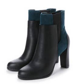 チャールズ アンド キース CHARLES & KEITH Ankle Boot Heels (Teal)
