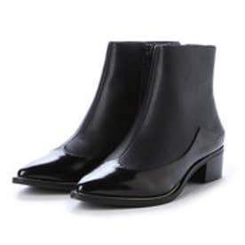 チャールズ アンド キース CHARLES & KEITH Ankle Boot Heels (Black)
